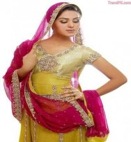 mehndi dresses designs for brides