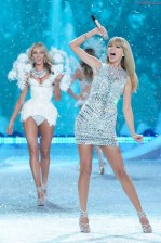 Candice Swanepoel and Taylor Swift - Snow Angels