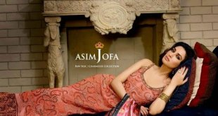 Asim Jofa Raw Silk  Charmeuse Collection (16)