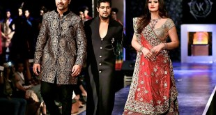 Ajaz Khan With Vishal Kapoor And Zarine Khan At PANACHErunway Fashion Show