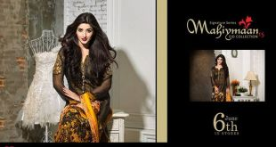 Mahiymaan Signature Lawn Eid Collection 2015 (4)