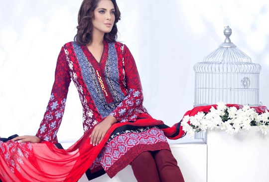 Ayesha Somaya Summer Lawn Eid Collection 2015 Vol 2
