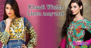 Khaadi Winter - Linen Collection 2015