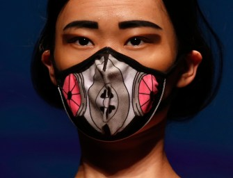 'Smog Fashion' Debuts as Anti-Pollution Masks Hit China's Fashion Scene