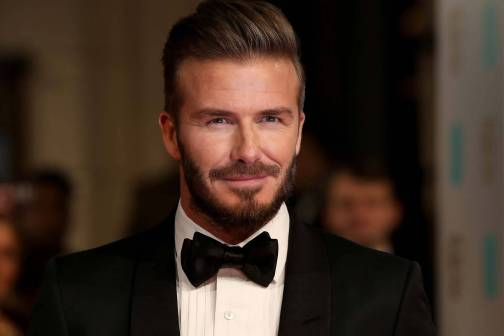 Beckham at the Met Gala