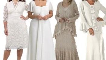 Plus Size Casual Wedding Dresses Bride