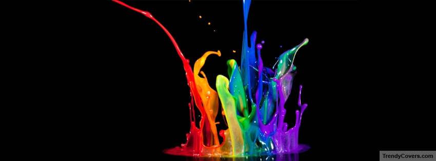 Color Splash Facebook Cover - TrendyCovers