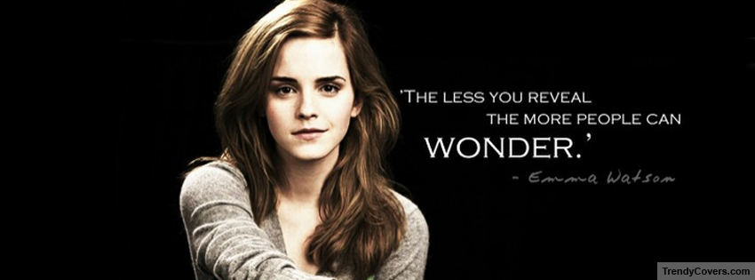 Albus Quote Harry Potter Wallpaper Hd Emma Watson Quote Facebook Cover Trendycovers Com