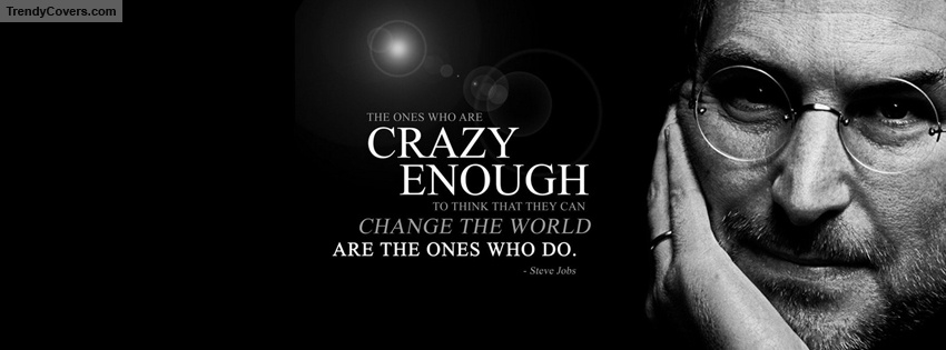 Shoot For The Moon Quote Wallpaper Steve Jobs Quote Facebook Cover Trendycovers Com