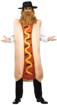Kosher Hot Dog Adult Mens Costume - 373798 ...