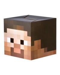 Minecraft Cardboard Steve Head - 299212   Trendyhalloween.com