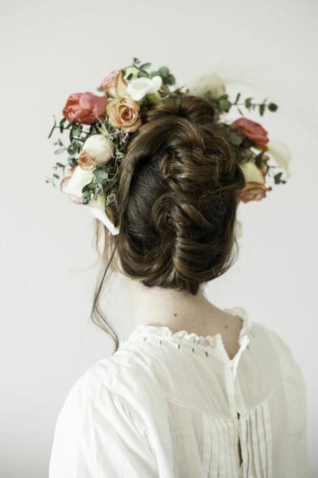 je veux une couronne de fleurs