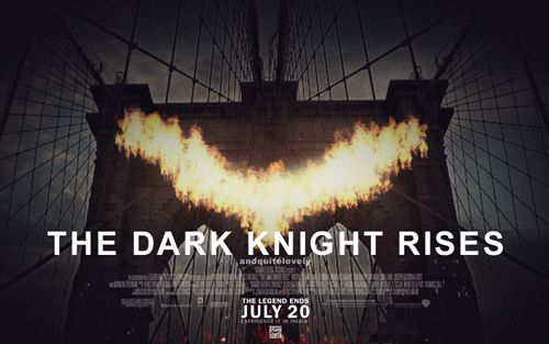The Dark Knight Rises animé