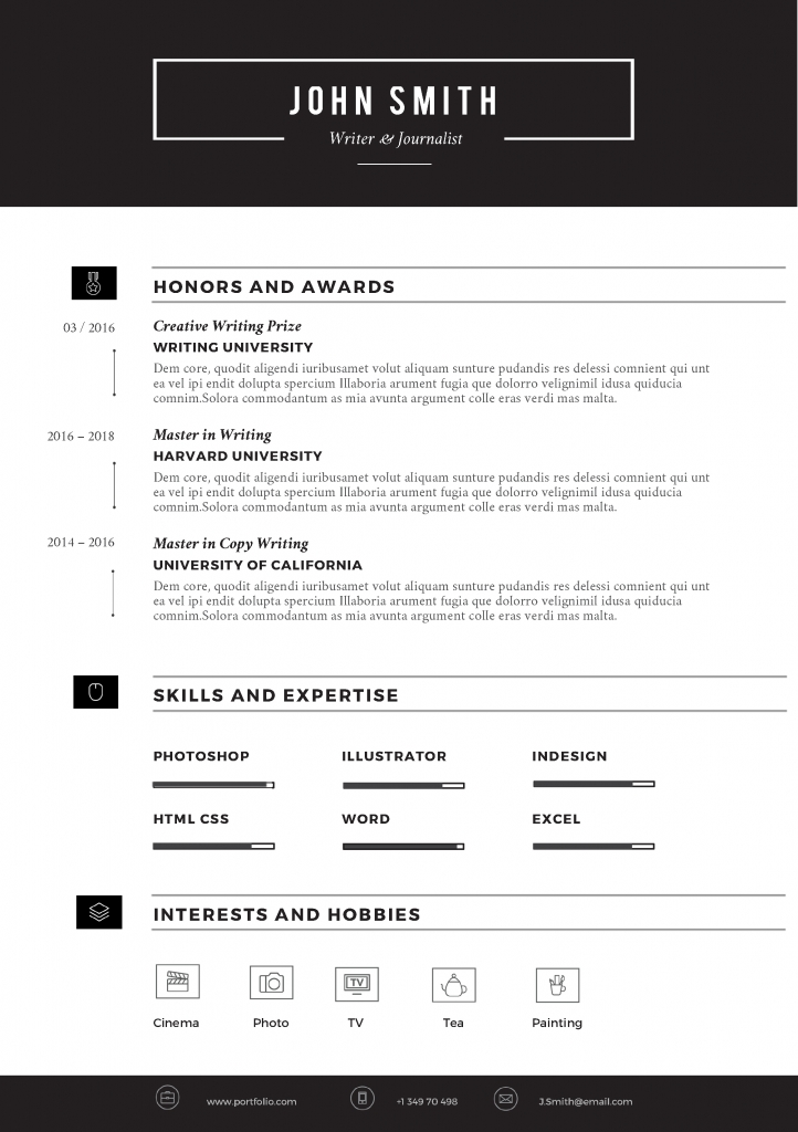 SLEEK Resume Template - Trendy Resumes - microsoft resume templates 2018