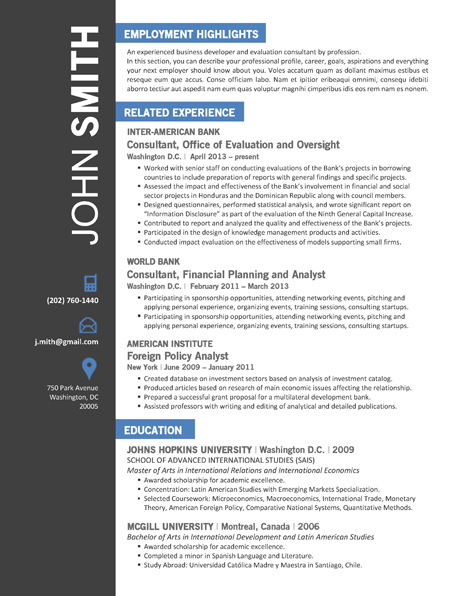 OFFICE Resume Template - Trendy Resumes