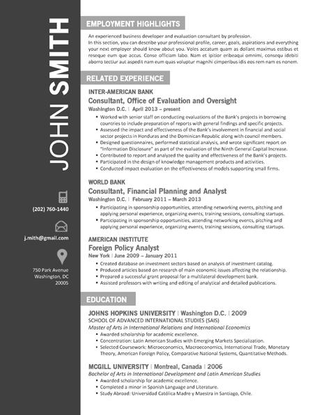 OFFICE Resume Template - Trendy Resumes