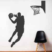 Basketball Player Wall Decal | Trendy Wall Designs