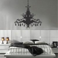 Chandelier Wall Decal - talentneeds.com