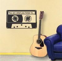 Custom Text Tape Wall Art Applique - Trendy Wall Designs