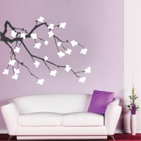 Cherry Blossom Branch Wall Decal | Trendy Wall Designs