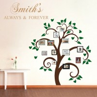 Picture Frame Tree Wall Decal, Tree Decals, Trendy Wall ...
