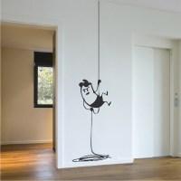 Intruder Wall Decal Decor _ Interior Vinyl Room Stickers ...