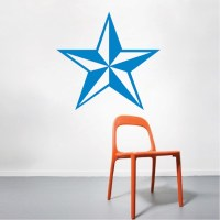 Nautical Star Wall Decal _ Wall Stickers _ Trendy Wall Designs