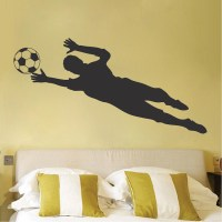 Soccer Goalie Wall Decal Sticker - Sport Murals - Trendy ...