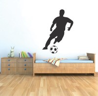 Soccer Player Wall Decal - Trendy Wall Designs