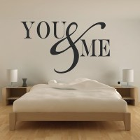 Romantic Bedroom Wall Decal - Vinyl Mural Sticker - You ...