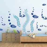 DIY Fish Bubbles Wall Stickers | Trendy Wall Designs