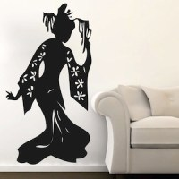 Geisha Wall Decal & Asian Wall Art