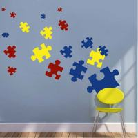 Puzzle Piece Wall Decals & Kids Wall Decor From Trendy ...