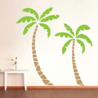 Palm Trees Wall Decal   Trendy Wall Designs