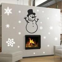 Snowman Wall Decal - Trendy Wall Designs