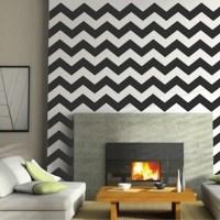 Chevron Wall Decals | Trendy Wall Designs