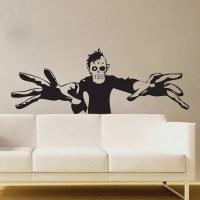 3D Zombie Wall Art Mural - Trendy Wall Designs
