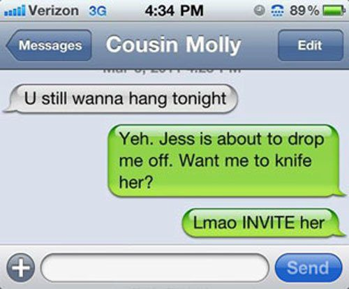 Funny Boy And Girl Wallpaper 25 Hilarious Texts People Didn T Quite Mean To Send