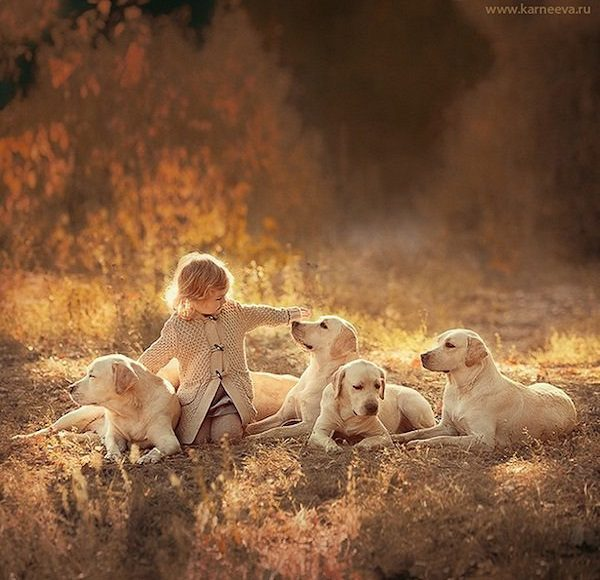 Cute Boy And Girl Friendship Wallpapers Photographer Captures Magical Moments Between Children And