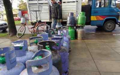 Programa Invierno: el Municipio entregó 481 garrafas hasta hoy