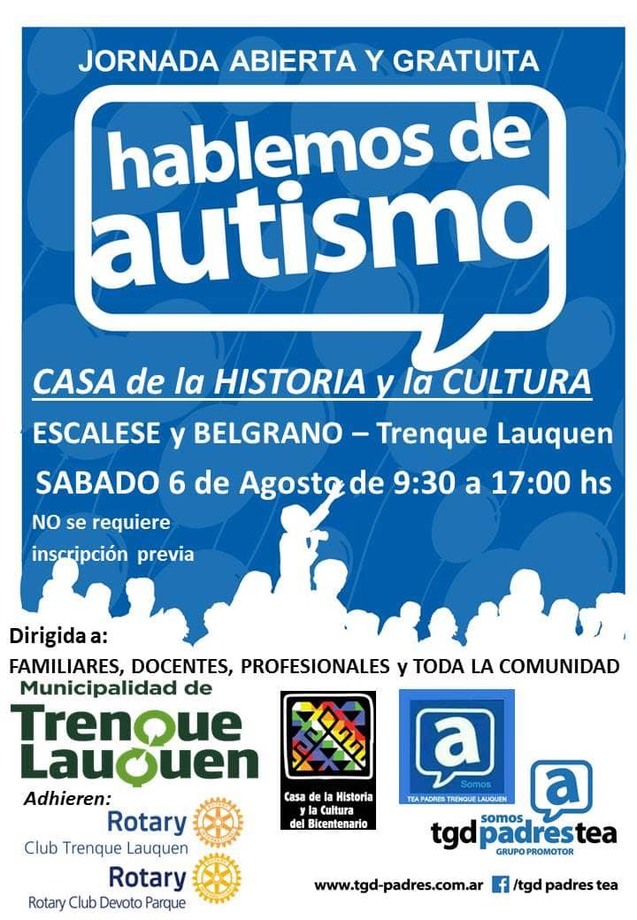 Jornada sobre autismo en Trenque Lauquen