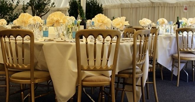 Wedding Venue Furniture, Tables and Chairs