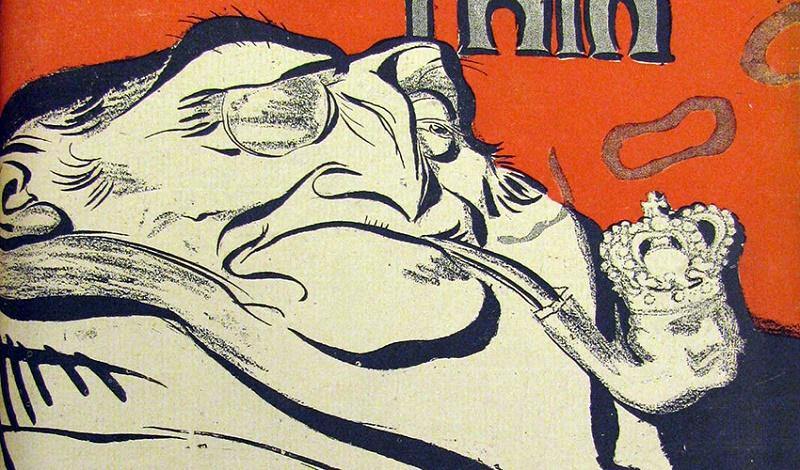L'Assiette au Beurre. c. 1901. (La Paix Cover)