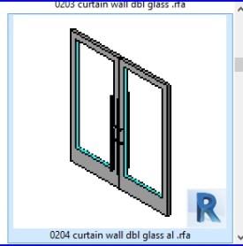 0204 cortina de cristal de la pared dbl al  .rfa
