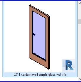 0211 muro cortina de cristal unico wd  .rfa