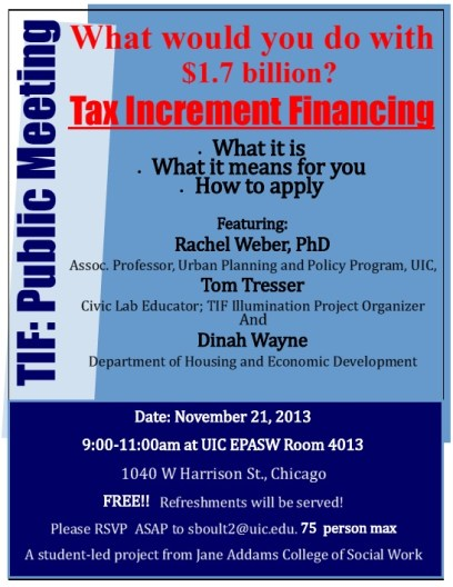 UIC SSW forum