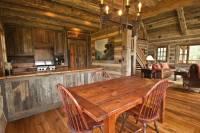 Photo #11637 - Smooth Oak Flooring, Hewn Timbers, Gray ...