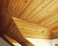 Photo #1663 - Southern Yellow Pine Ceiling