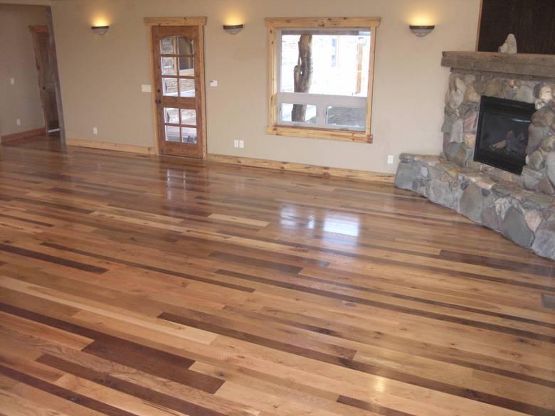 Photo 4325 Mixed Hardwood And Softwood Floor