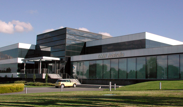 Trevor Main Property Group - bmw corporate office